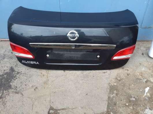 Крышка багажника, Nissan Almera G15