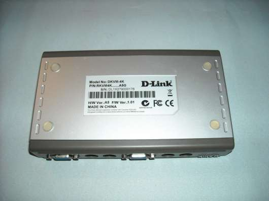KVM Switch D-Link 4х портовый в г. Чайковский Фото 4