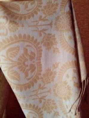 шарф-палантин двухсторонний, коричневый в Санкт-Петербурге Фото 2