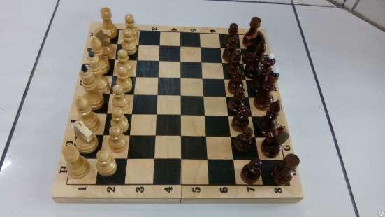 Шахматы лакированные Обиходные 290х145х38 новые с доставкой в Волгограде Фото 4