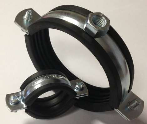 Скоба металлическая олнолапковая 10-11 мм