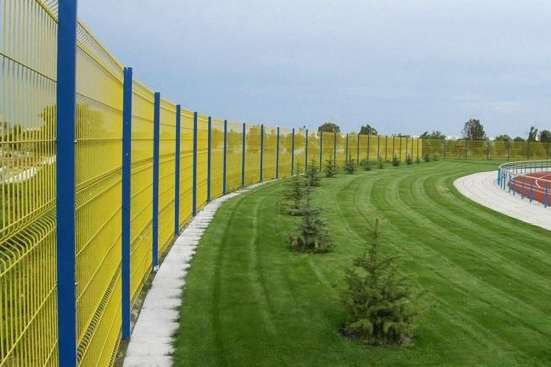3D Забор, 3Д сварная панель 2030x2500x3/4мм