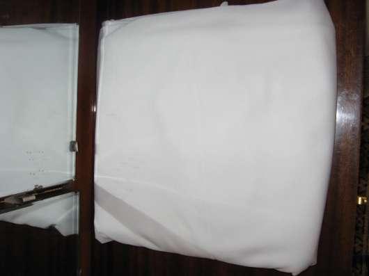 Ткань белая