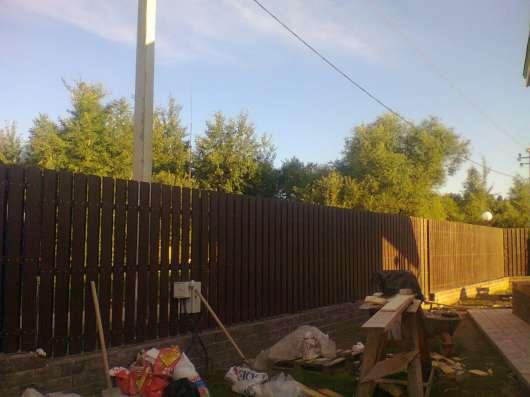 Строительство домов, беседок, заборов, крыш, терас в Воскресенске Фото 3