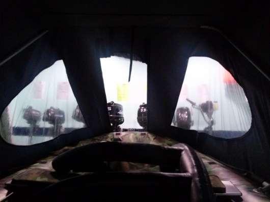Ходовой тент на надувную лодку