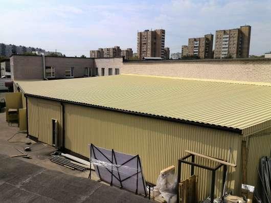 Теплое складское помещение 70 м²