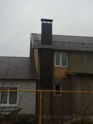 Монтаж дымоходов и вентиляционных каналов под газ в Воронеже