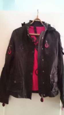 Куртки-кожа раз S, M,L -первое фото.Производство Италия.Зима
