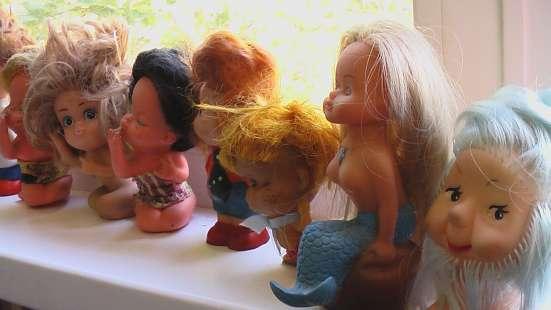 Игрушки резиновые с волосами. СССР в Саратове Фото 2