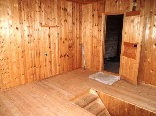 Брусовой дом 100 кв. м, 21 сотка, электричество, колодец, хорошая деревня, сантехника.