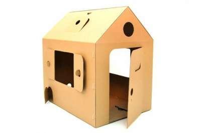 Картонный домик 4041К Мой первый дом