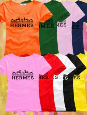 Футболка Hermes Франция мелким оптом