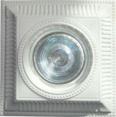 Точечные гипсовые светильники в Казани Фото 1