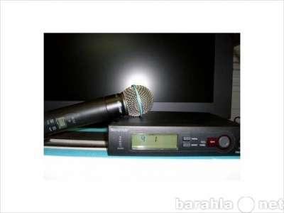 микрофон SHURE SLX24/BETA58 проф.
