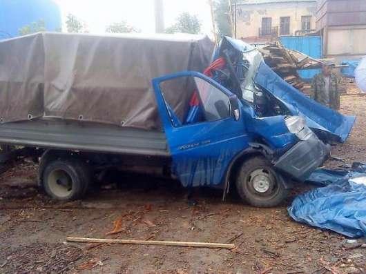 Ремонт битых автомобилей ГАЗ, ремонт газелей.
