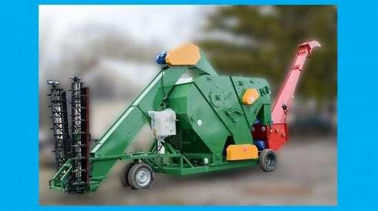 Самоходный зерноочистительный комплекс