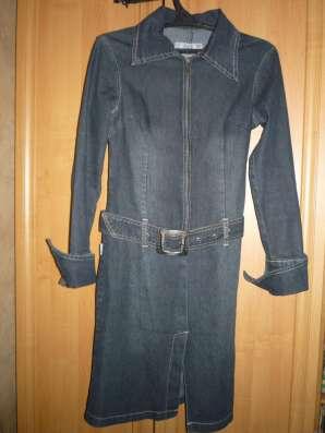 Джинсовое платье ES&E
