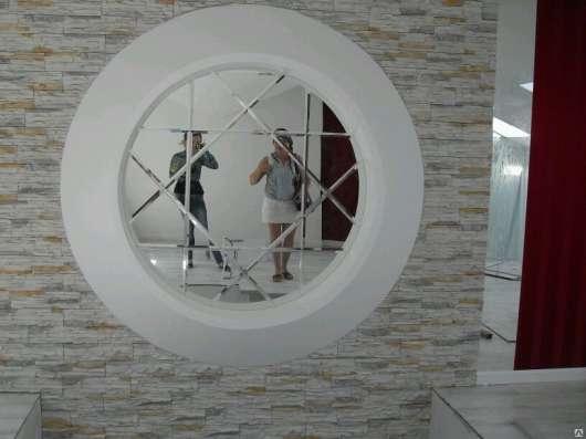 Фацетное зеркальное панно