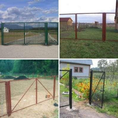Садовые ворота и калитки с доставкой Витебск