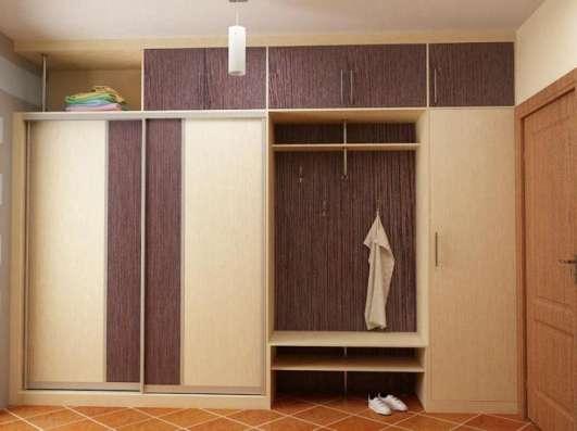 Прихожие по размеру, шкафы-купе, нестандартные в Уфе Фото 3