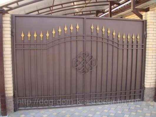 Заборы, ворота, калитки