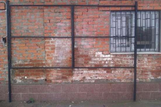 Продаем садовые металлические ворота и калитки от производит