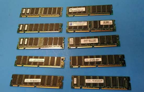 Sdram PC100, PC133, PC66 разные, много