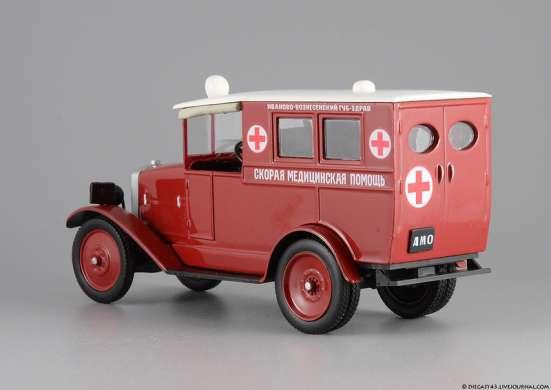 автомобиль на службе №32 АМО-Ф-15 Скорая медицинская помощь в Липецке Фото 5