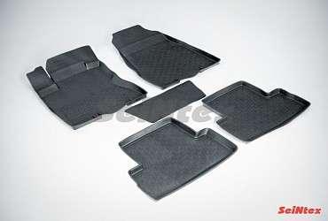 Коврики автомобильные резиновые, текстильные, 3D