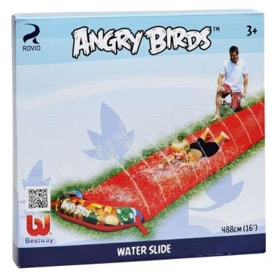 Надувная водяная дорожка Angry Birds 488см. длина