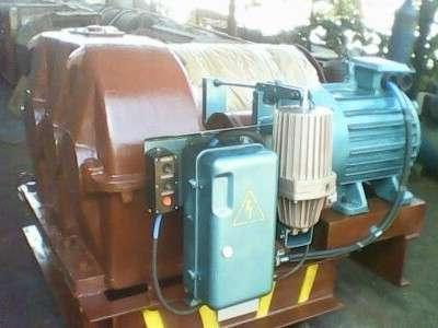 Лебедка маневровая электрическая ЛМ-140 с тросом