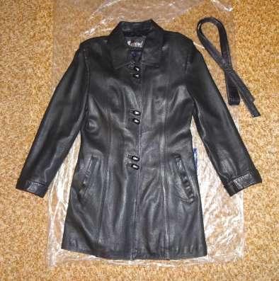 Элегантная куртка - натуральная кожа
