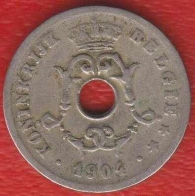 Бельгия 10 сантимов 1904 г