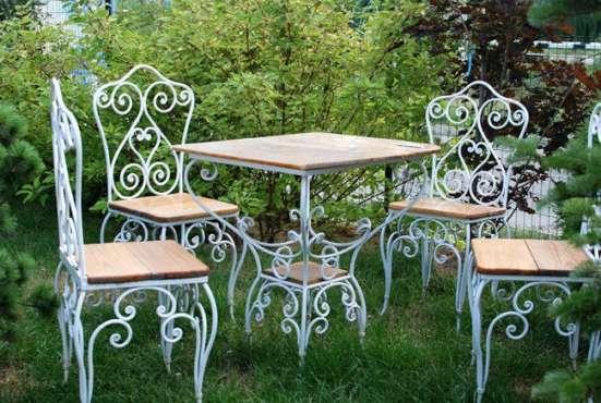 Кованая садовая мебель в Тюмени Фото 1