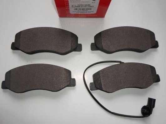 Тормозные колодки (дисковые, задние). Renault Master. Opel M