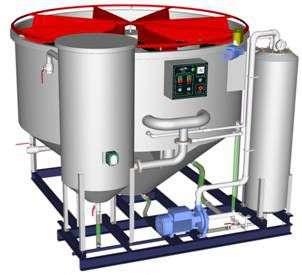 Флотаторы по очистке сточных вод