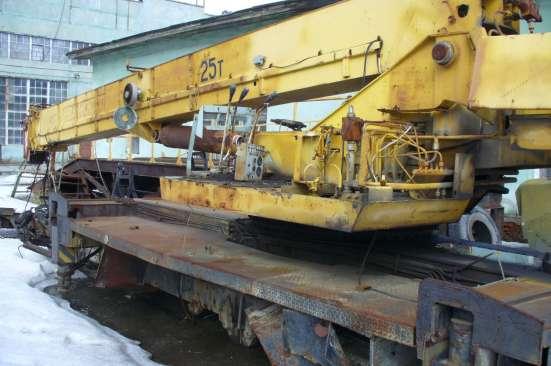 Установка автокрана 16-25 тонн в Екатеринбурге Фото 1