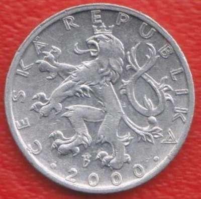 Чехия 50 геллеров 2000 г. в Орле Фото 1