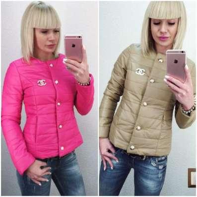 Куртка женская Шанель осень-весна