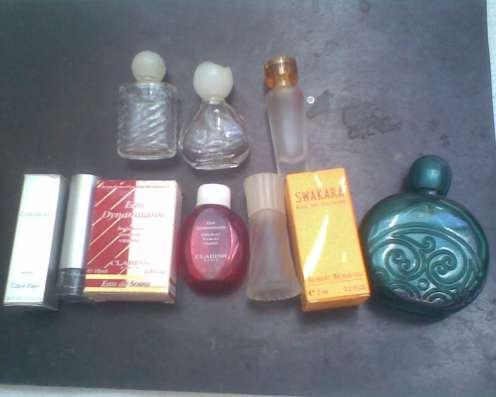 Флаконы от оригинальных парфюмов+сюрпри