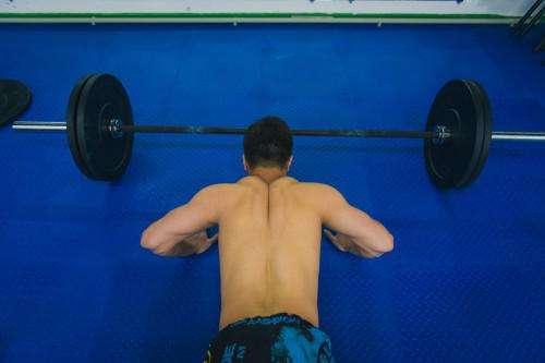 Напольное покрытие для установки тренажеров и занятий тяжелой атлетикой.