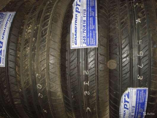 Новые Dunlop 245/70 R16 Grandtrek PT3