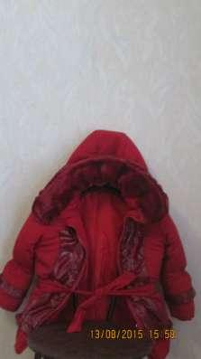 Куртка детская меховая на 6 -7 лет