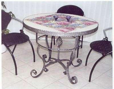 стол кухонный кованый в Краснодаре Фото 1