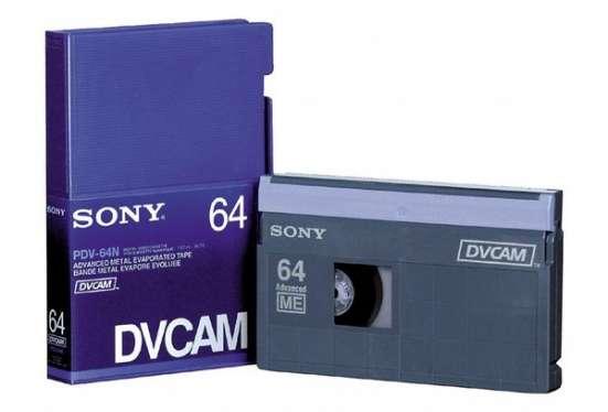 видеокассеты SONY DVCAM для цифровых профессиональных видеокамер