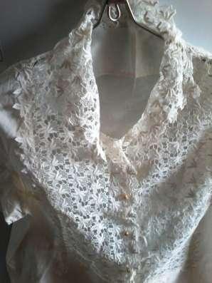 Блуза ажурная, разм.48-50
