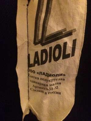 Клетка ladioli m-32