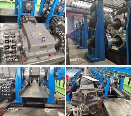 Автоматическая линия по производству швеллера