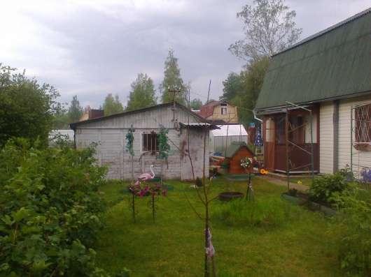 Продам участок с зимним домом в 8 км от г Выборга