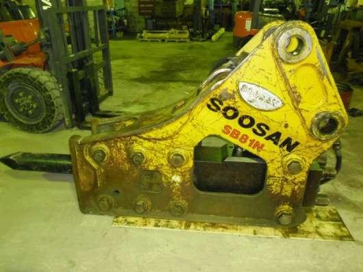 Гидромолот SOOSAN SB81N